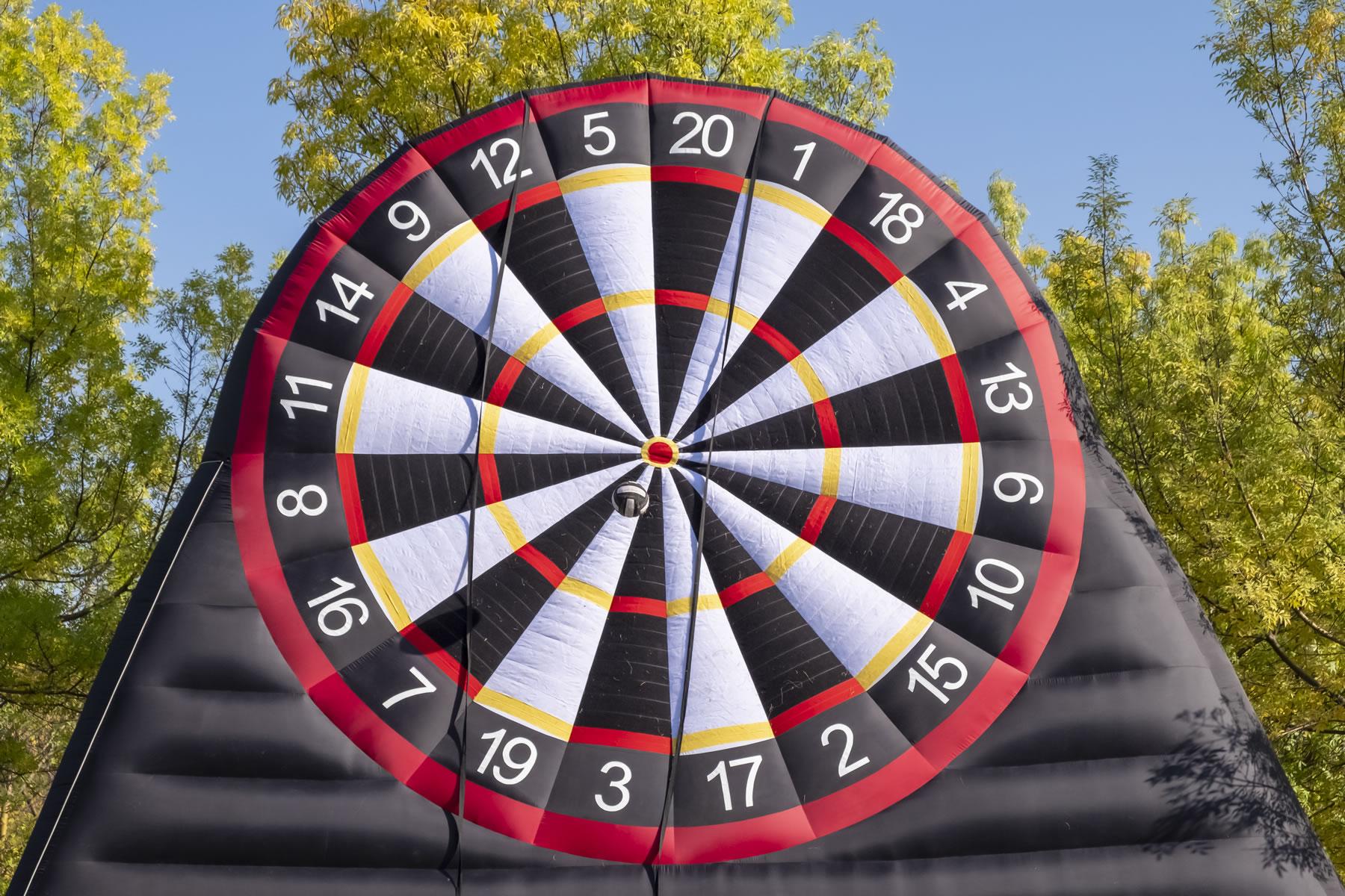 Voetdarts is een gouden combinatie van darten en voetbal