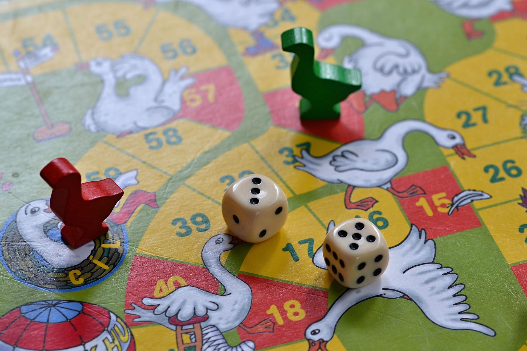 Bereik jij als eerste de finish tijden ons spel Levend Ganzenbord?
